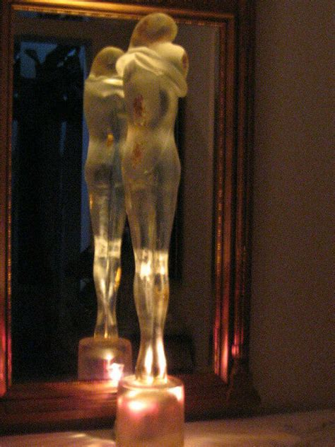 """MURANO MAGNIFICENT """"TWO LOVERS"""" ONE OF A KIND SIGNED"""