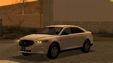 GTA San Andreas 2014 Ford Taurus Unmarked Mod - GTAinside