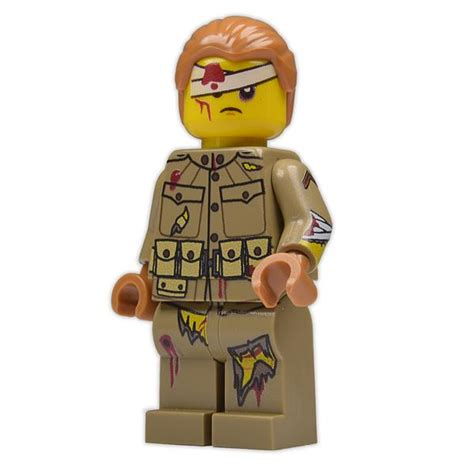 Brick Loot Exclusive Wounded Will Custom LEGO® Minifigure