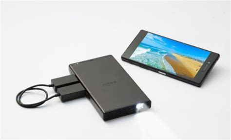 Sony MP-CD1 ultra-portable mobile projector with 120-inch