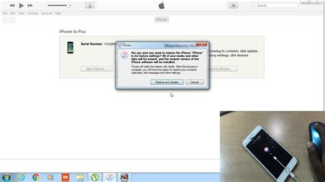 RESTORE A DISABLE IPHONE 4S/5/5S/6/6S OR IPAD    SOLUTION
