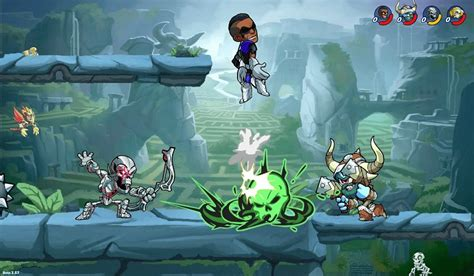 Epic Fighting Game 'Brawlhalla' Coming to PS4 for