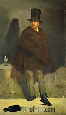The Absinthe Drinker | Manet | Painting Reproduction 13619